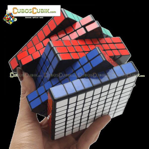 Cubos Rubik ShengShou 9x9 Base Negro
