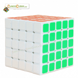 Cubos Rubik ShengShou 5x5 Wind Base Blanco