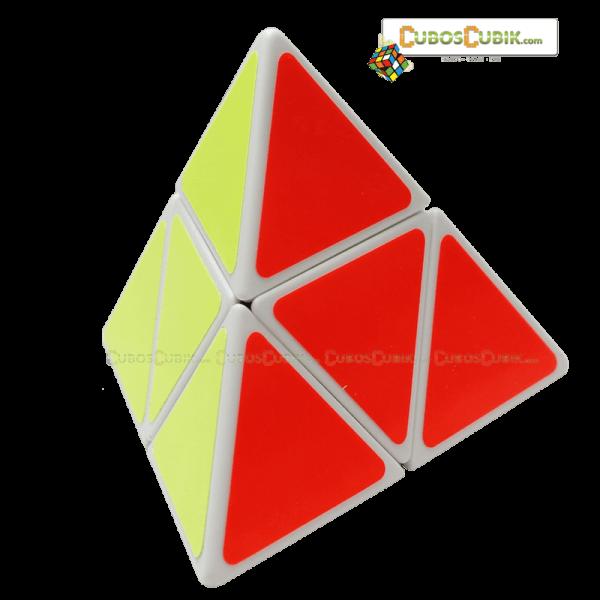 Cubos Rubik ShengShou PyraMorphix 2x2 Base Blanca