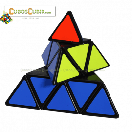 Cubos Rubik Shengshou Pyraminx Base Negra