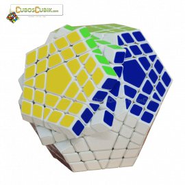 Cubos Rubik Shengshou Gigaminx Base Blanca