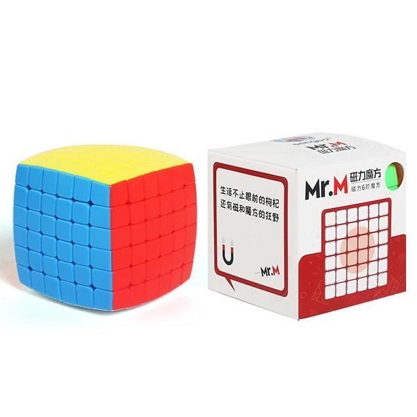 Cubos Rubik ShengShou Mr M Magnético 6x6 Colored