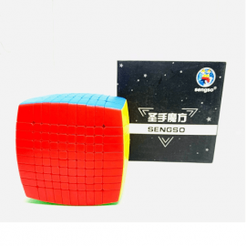 Cubos Rubik Shengshou 10x10 Colored Pillow
