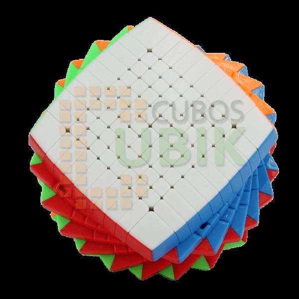 Cubos Rubik Shengshou 10x10 Colored Pillow