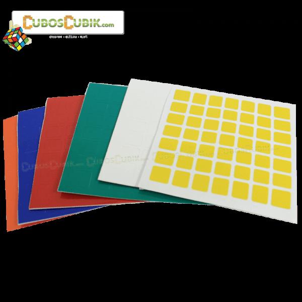 Set Stickers para 7x7 ShengShou LingLong Mini