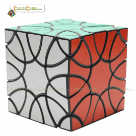 Cubos Rubik VeryPuzzle Clover Base Negra