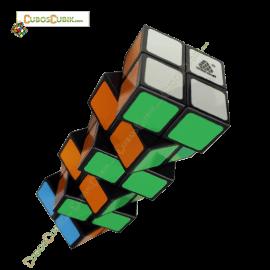 Cubos Rubik  WitEden 2x2x6 Cuboide Negro