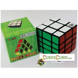 Cubos Rubik WitEden 3x3x4 MixUp Base Negra