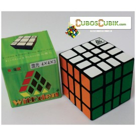 Cubos Rubik WitEden 4x4x3 MixUp Base Negra