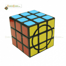 Cubos Rubik WitEden 3x3x3 Crazy Base Negra
