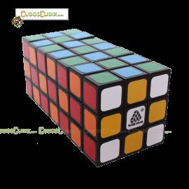 Cubos Rubik  WitEden 3x3x7 Cuboide Negro