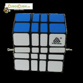 Cubos Rubik WitEden 4x4x2 Camouflage Base Negra