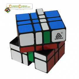 Cubos Rubik WitEden 4x4x3 Camouflage Base Negra