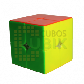 Cubos Rubik Yuxin Little Magic 2x2 Magnetico Colored