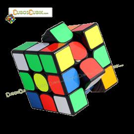 Cubos Rubik YuXin 3x3 HuangLong Negro