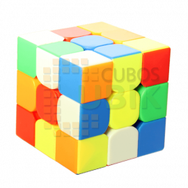Cubos Rubik YuXin 3x3 Black Kyrin Colored