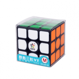 Cubos Rubik Yuxin 3x3 Kylin V2 M Negro