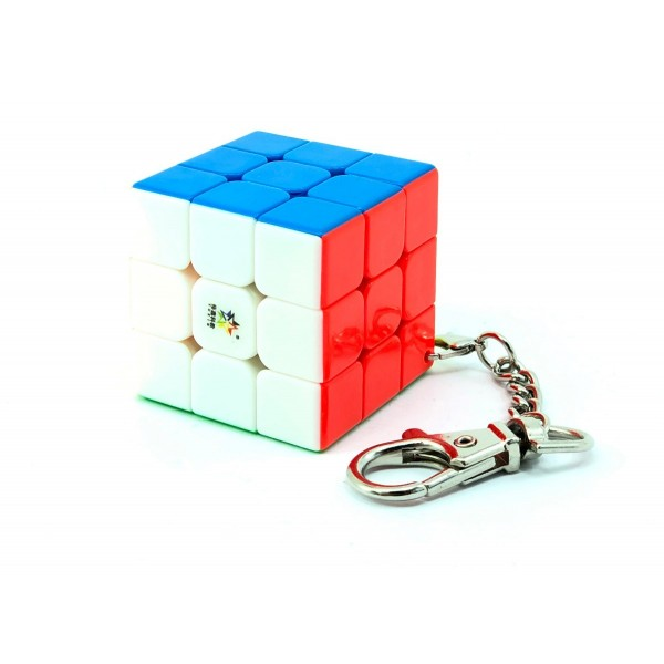 Cubos Rubik YuXin Llavero 3x3 V2 Colored