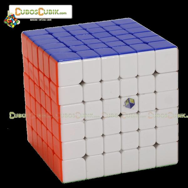 Cubos Rubik YuXin 6x6 Red Unicorn Colored