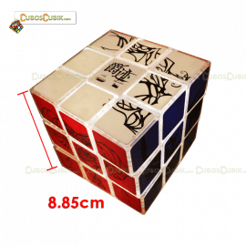 Cubos Rubik YuXin 3x3 Jueju Big Led 8.85 Cm
