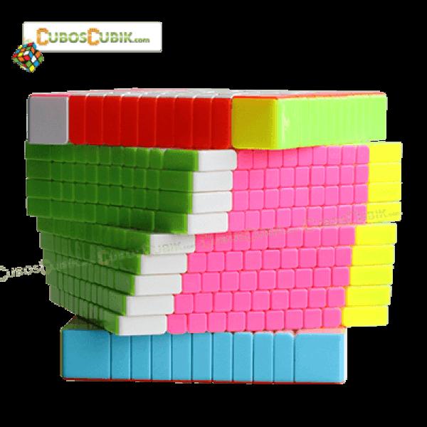 Cubos Rubik YuXin 11x11 HuangLong Stickerless