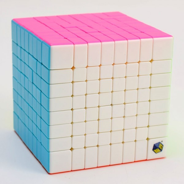 Cubos Rubik YuXin 8x8 HuangLong Stickerless