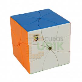 Cubos Rubik Yuxin Eight Petals M Colored