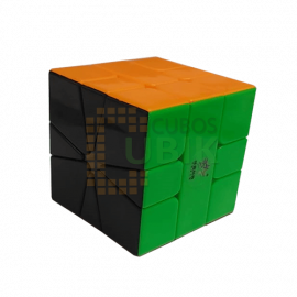 Cubos Rubik YuXin Little Magic Square 1 M Colored Black