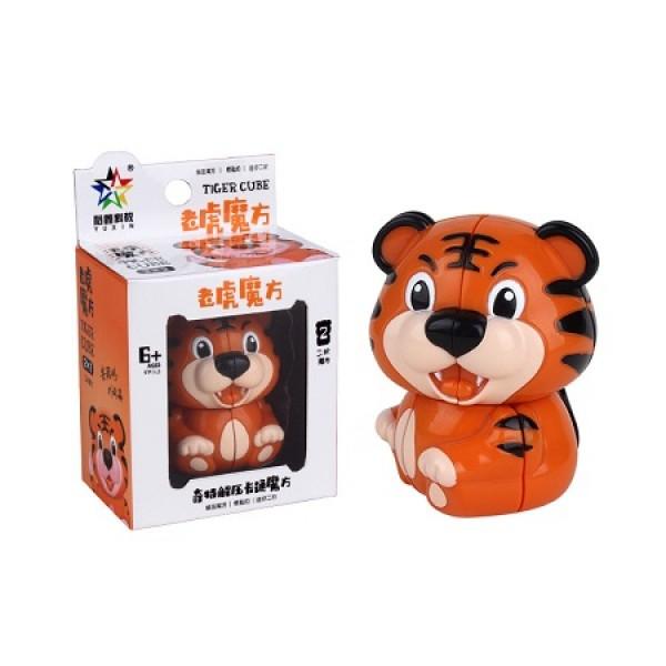 Cubos Rubik Yuxin Tigre 2x2 Llavero