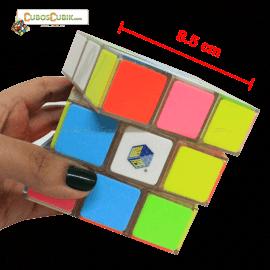 Cubos Rubik YuXin 3x3 Roar Lion 8.85 Cm Tiles