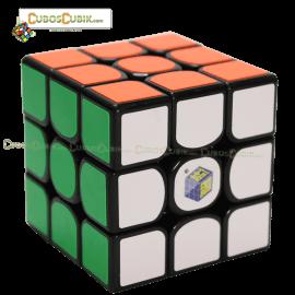 Cubos Rubik YuXin 3x3 Negro Unicorn