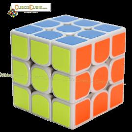 Cubos Rubik YuXin 3x3 Blanco Unicorn