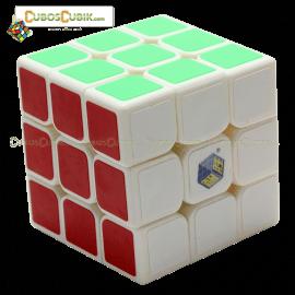 Cubos Rubik YuXin 3x3 Water Unicorn Base Blanco