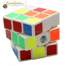 Cubos Rubik YuXin 3x3 Water Unicorn Base Blanco