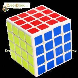 Cubos Rubik YuXin 4x4 Blue Unicorn Blanco