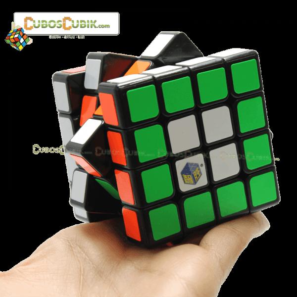 Cubos Rubik YuXin 4x4 Blue Unicorn Negro
