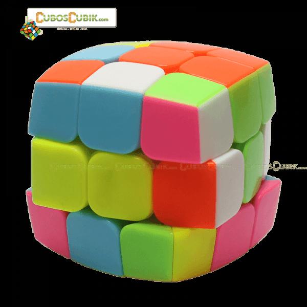 Cubos Rubik YuXin 3x3 Pink HuanQiLin Pillow