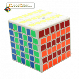 Cubos Rubik YuXin 6x6 Red Unicorn Blanco