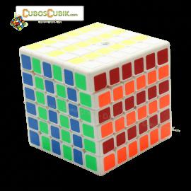 Cubos Rubik YuXin 6x6 Red Unicorn Blanco