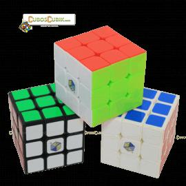 Cubos Rubik YuXin 3x3 Fire Unicorn Blanco