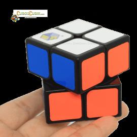 Cubos Rubik YuXin 2x2 Silver Unicorn Negro