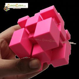 Cubos Rubik Yuxin Mirror 3x3 Base Rosa