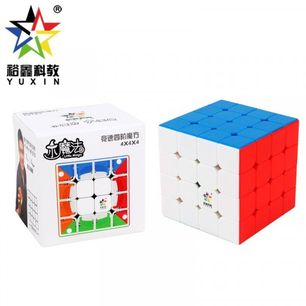 Cubos Rubik Yuxin Little Magic 4x4 M Colored
