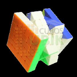 Cubos Rubik Yuxin Little Magic 6x6 Magnetico Colored