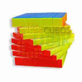 Cubos Rubik Yuxin Little Magic 8x8 Colored