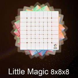 Cubos Rubik Yuxin Little Magic 8x8 Colored