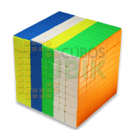 Cubos Rubik Yuxin Little Magic 9X9 Colored