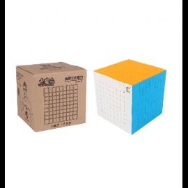 Cubos Rubik Yuxin Little Magic 9X9 Colored