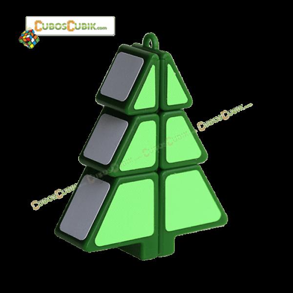 Cubos Rubik Árbol de Navidad