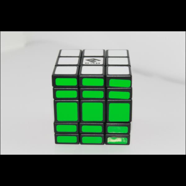 Cubos Rubik C4U 3x3x5 Base Negra